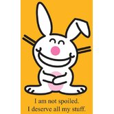 Happy Bunny - Not Spoiled Cardboard Stand-Up