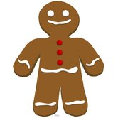 Gingerbread Man Cardboard Stand-Up