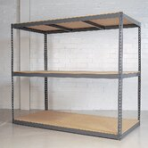 Rivet Wedge-Lock High Capacity Bulk Unit with 3 Shelf Frames: Starter Unit
