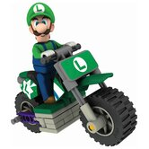 Nintendo Luigi and Standard Bike Building Set