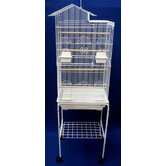 Villa Top Small Bird Cage with Stand