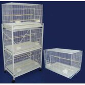 Four Medium Bird Breeding Cages