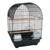 3/8&quot; Bar Spacing Round Top Bird Cage