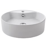Ceramic White Round Sink