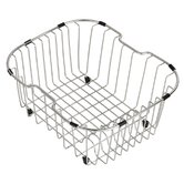 Kitchen Accessories Stainless Steel Rinse Basket for Kitchen Sink in Chrome