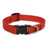 "Solid Color 1/2"" Adjustable Small Dog Collar"