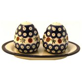 Salt and Pepper Shaker Set- Pattern 41A