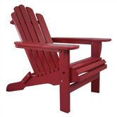 Solid Adirondack Chair
