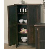 Tall Double Jelly Cabinet in Chestnut