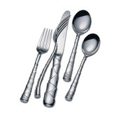Stainless Flatware Captiva 5 Piece Flatware Set