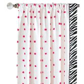 Talulla Cotton Left Curtain Panel