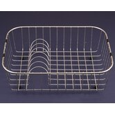 WireCraft 14.25&quot; x 19.25&quot; Rinsing Basket in Stainless Steel