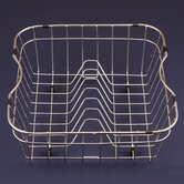 WireCraft 15.25&quot; x 14.75&quot; Rinsing Basket in Stainless Steel