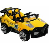 Mini Motos Super Car in Yellow