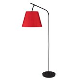 Walker Floor Lamp in Powder Coated Black