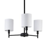 Walker 4 Light Chandelier with Drum Shade