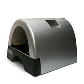 Designer Cat Litter Box with Metallic Cover