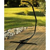 C-Frame Hanging Chair Stand in Bronze