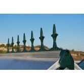 Victorian Finial in Green (Set of 16)