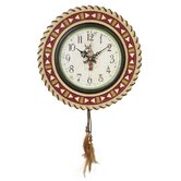 Horse Wall Clock in Multicolor