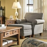 Angeline Chair and Ottoman