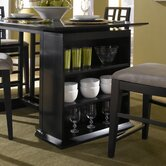 Perspectives Counter Table Storage Unit in Graphite