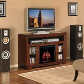 "Palisades 56"" TV Stand with Electric Fireplace"