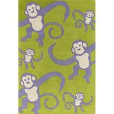 Kids Monkey Kids Rug