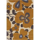 Amy Butler Morning Glory Orange Rug