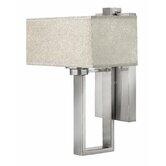 Quattro  Wall Sconce in Brushed Nickel
