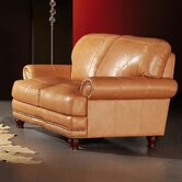 Thomas Leather Loveseat