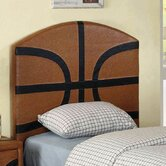 Sports Fun Basketball Panel Headboard