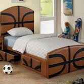 Sports Fun Basketball Bed