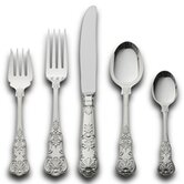Queens 5 Piece Dinner Flatware Set