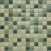 "Glass Mosaic 12"" Tile Accent in Spruce"