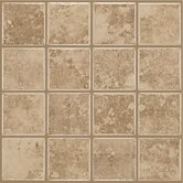 "Colonnade 3"" x 3"" Ceramic Floor Tile in Coffee"