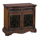 European Manor 2 Drawer 2 Door Storage Cabinet