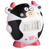 Let's Make Alarm Clock and Timer Cow Patterned