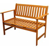 Corwin Wood Garden Bench