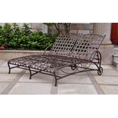 Santa Fe Double Patio Chaise Lounge