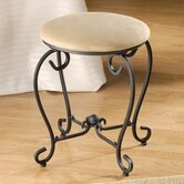 Iron Patio Vanity Stool