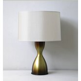 Baby Belle Table Lamp in Olive Mocha Fade with Pebble Shade