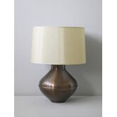 Belladonna Table Lamp in Mocha with Pebble Shade