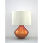 Belladonna Table Lamp in Fire with Pebble Shade