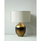 Rubianne Table Lamp in Rust Horizon with Pebble Shade