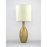Juggler Table Lamp in Spungold with Pebble Shade