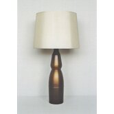 Keiko Table Lamp in Bronze Fade with Pebble Shade