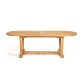 Teak Oval Dining Table