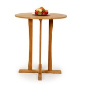 Teak Round Bar Table