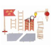 Castle Accessories Set in Red